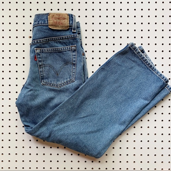 Levi's Denim - Levi's High Waisted 550 jeans